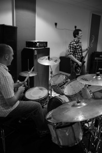 The rhythm section
